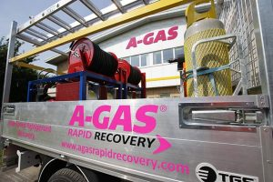 A-Gas Rapid Recovery vehicle