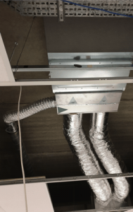 Daikin plenum and ducting