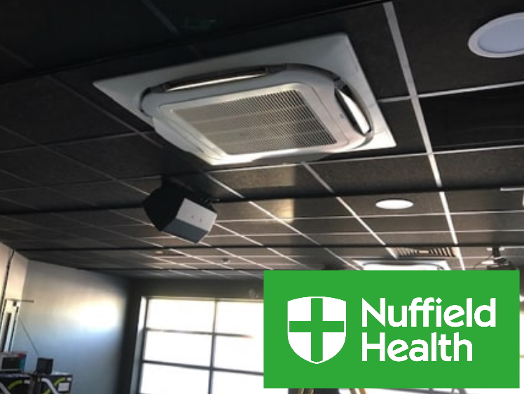 Gym Air Conditioning Install - Nuffield Health
