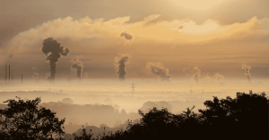 Emissions from medium combustion plants with orange sky